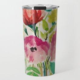 Floral Bouquet Travel Mug