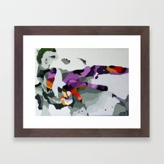 Me and my pet Framed Art Print