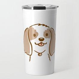 Cocker Spaniel Cartoon Dog Travel Mug