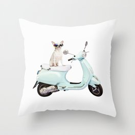 Ciao Chihuahua Throw Pillow
