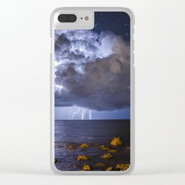 Best Storm Photo Clear iPhone Case