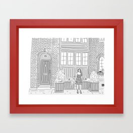 Carriage House Blues Framed Art Print
