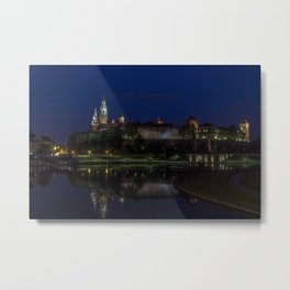 Castle on the Hill. Metal Print