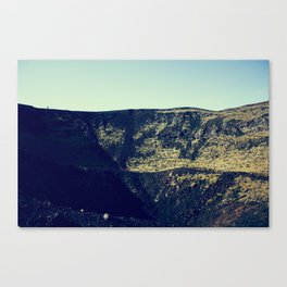 Mouth of the Volcano Canvas Print