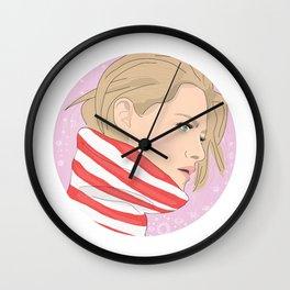 Kristen Stewart Galaxy Wall Clock
