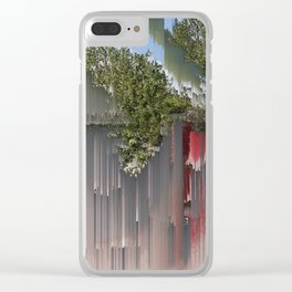 Interference #3 Clear iPhone Case