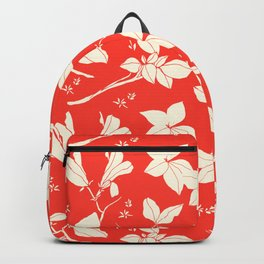 Drawings from Stonecrop Garden, Pattern in Red Backpack