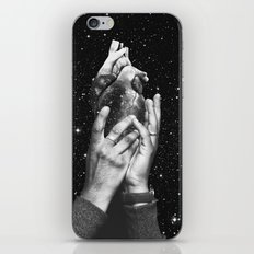 Heart says hold on iPhone & iPod Skin