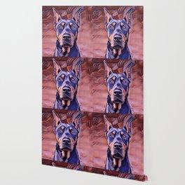 I Love My Doberman Pinscher Wallpaper
