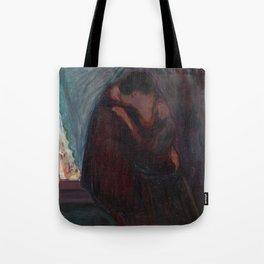 The Kiss - Edvard Munch Tote Bag