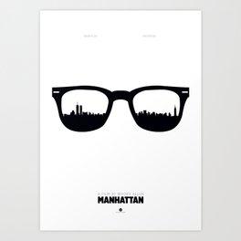 Manhattan Poster Art Print