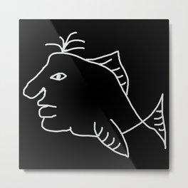Fishman 2 Metal Print