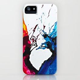 Abstract Art Britto - QB292 Art Print iPhone Case