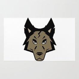 Knightwolf Logo Rug