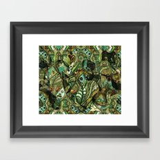 Journey thru the mind to see what makes you shine Framed Art Print