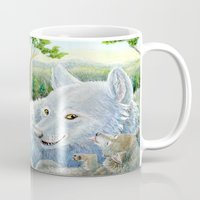 minnesota Mugs featuring Minnesota Wolves by MelanieLehnen