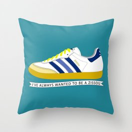 I've Always Wanted to be a Zissou - The Life Aquatic Throw Pillow