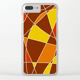 Abstract Painting #2 Clear iPhone Case