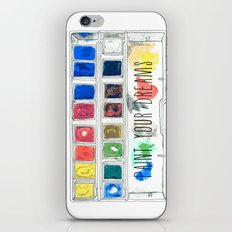 paint your dreams iPhone & iPod Skin
