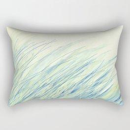 Blue grass for Cindy Rectangular Pillow