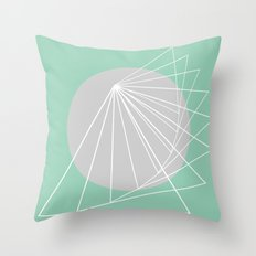 Everything belongs to geometry #5 Throw Pillow