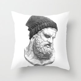Heracles Throw Pillow
