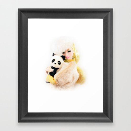 WILD FOR LOVE Framed Art Print