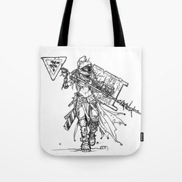 Post-Catastrophe Arena Challenger Tote Bag
