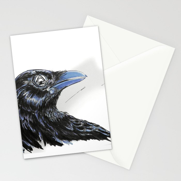 RHX Raven Logo Stationery Cards