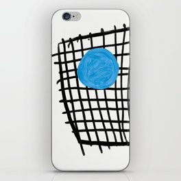 a graphic montage iPhone Skin
