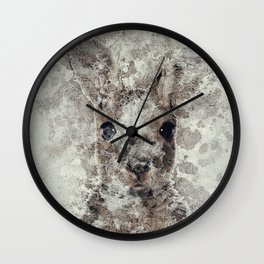 The Rabbit Wall Clock