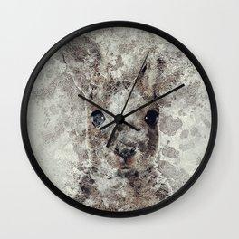 The Rabbit Wall Clock