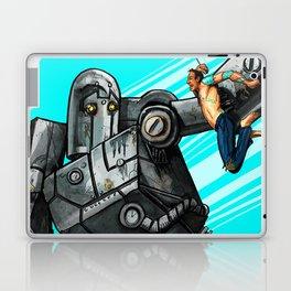Tattooed Man VS The Bot Laptop & iPad Skin