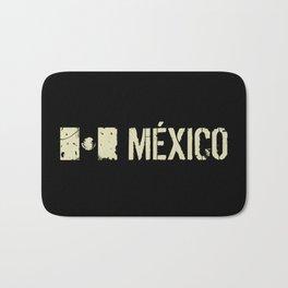 Mexican Flag: Mexico Bath Mat