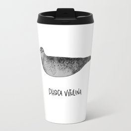 Harbor Seal Travel Mug
