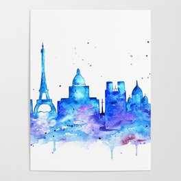 Once in Paris Poster