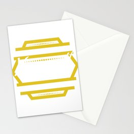 Funny Overthink Tshirt Design Just let it be Stationery Cards