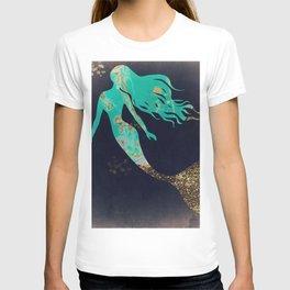 Turquoise Mermaid T-shirt