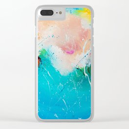 Wonderful mood Clear iPhone Case