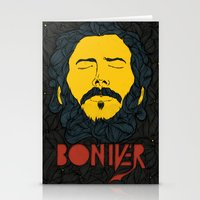 bon iver Stationery Cards featuring Bon Iver by Oliveira37/Tadeu Amaral