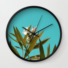 Tropical Floral Wall Clock