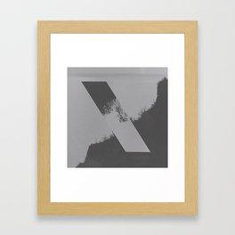 XI Framed Art Print