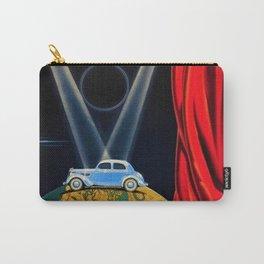 Vintage Automobile Advertising Poster for Matford V8 Une Nouvelle Vedette sur la Scene du Monde Carry-All Pouch