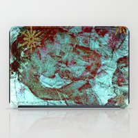 madonna iPad Cases featuring Blue Madonna and Child by ArtistsWorks