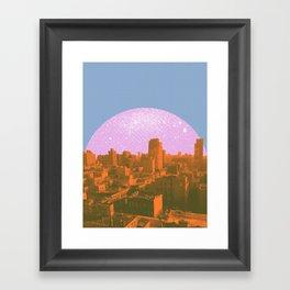 Metropolis Landing II Framed Art Print