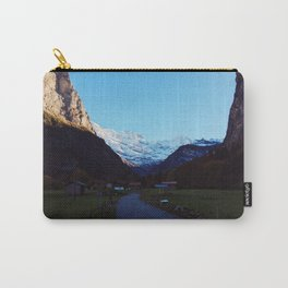 Swiss Alps Path Carry-All Pouch