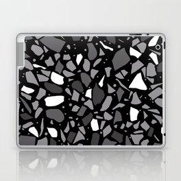 Terrazzo Spot Black 2 Laptop & iPad Skin