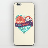 lyrics iPhone & iPod Skins featuring Lyrics Love by Pink Berry Patterns