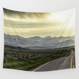 Crazy Mountains Wall Tapestry