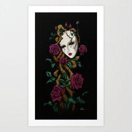 Ego´s death Art Print